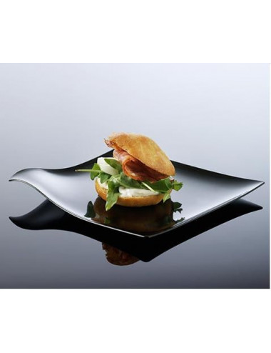 Mini assiette Hola TRANSPARENT - Lot de 100