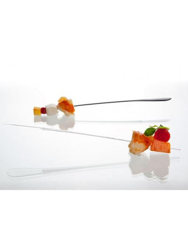 Brochettes longues Sphera TRANSPARENT - Lot de 500