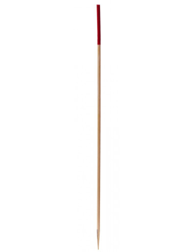 Brochette Svelt Rouge 150mm - Lot de 100