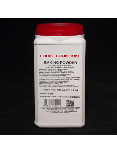 Baking powder - Louis François - 1kg