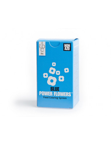 Bleu - Power Flower NON AZO - 50g
