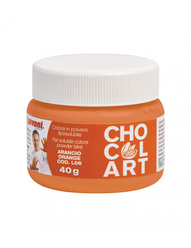 Orange - Colorant en poudre Chocolart - 40g
