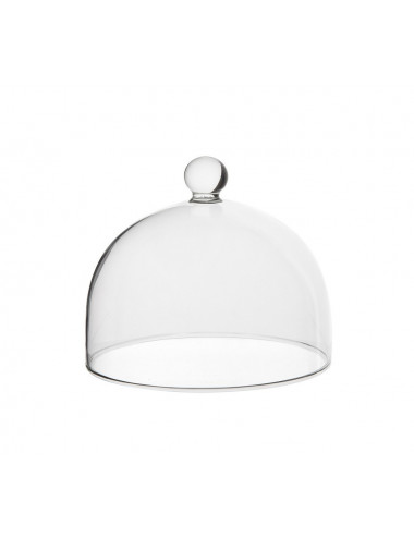 Cloches en pyrex 18cm sans valve - lot de 6