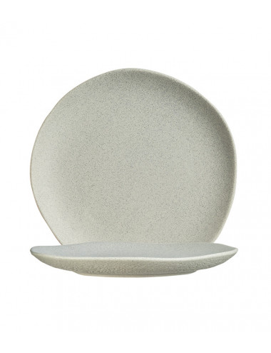 275x32 mm - Assiette plate Rocaleo Nature - Lot de 6