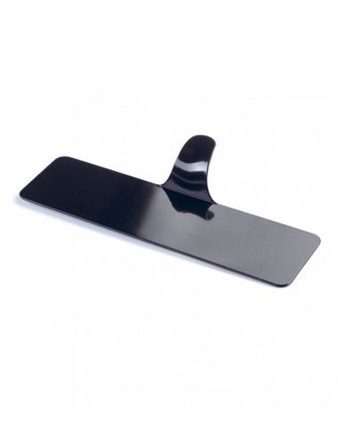 Rectangle noir - Plateaux support plastique - Lot de 250