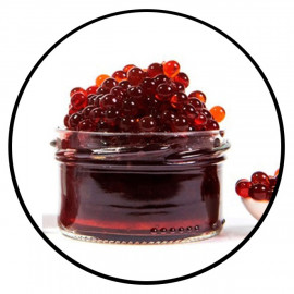 Caviar de fruits